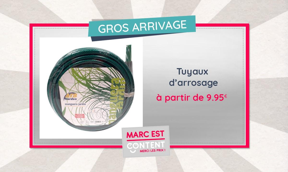 Tuyaux d'arrosage de haute qualité, 9.95€ pour 15m ou 14.95€ pour 25m