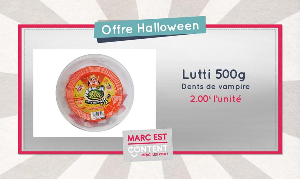 Bientôt Halloween, faites le plein de bonbons